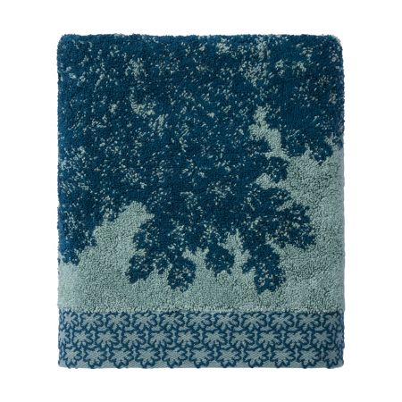 Yves Delorme Calicot Peacock hand towel