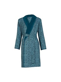 Calicot Peacock medium robe