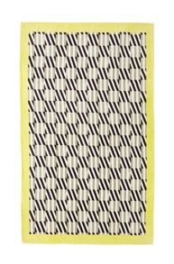 Yves Delorme Square Brun beach towel