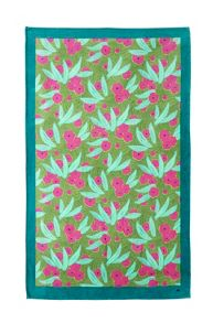 Yves Delorme Exotique Kiwi beach towel