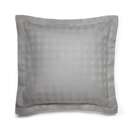 Ralph Lauren Home Glen plaid silver square sham
