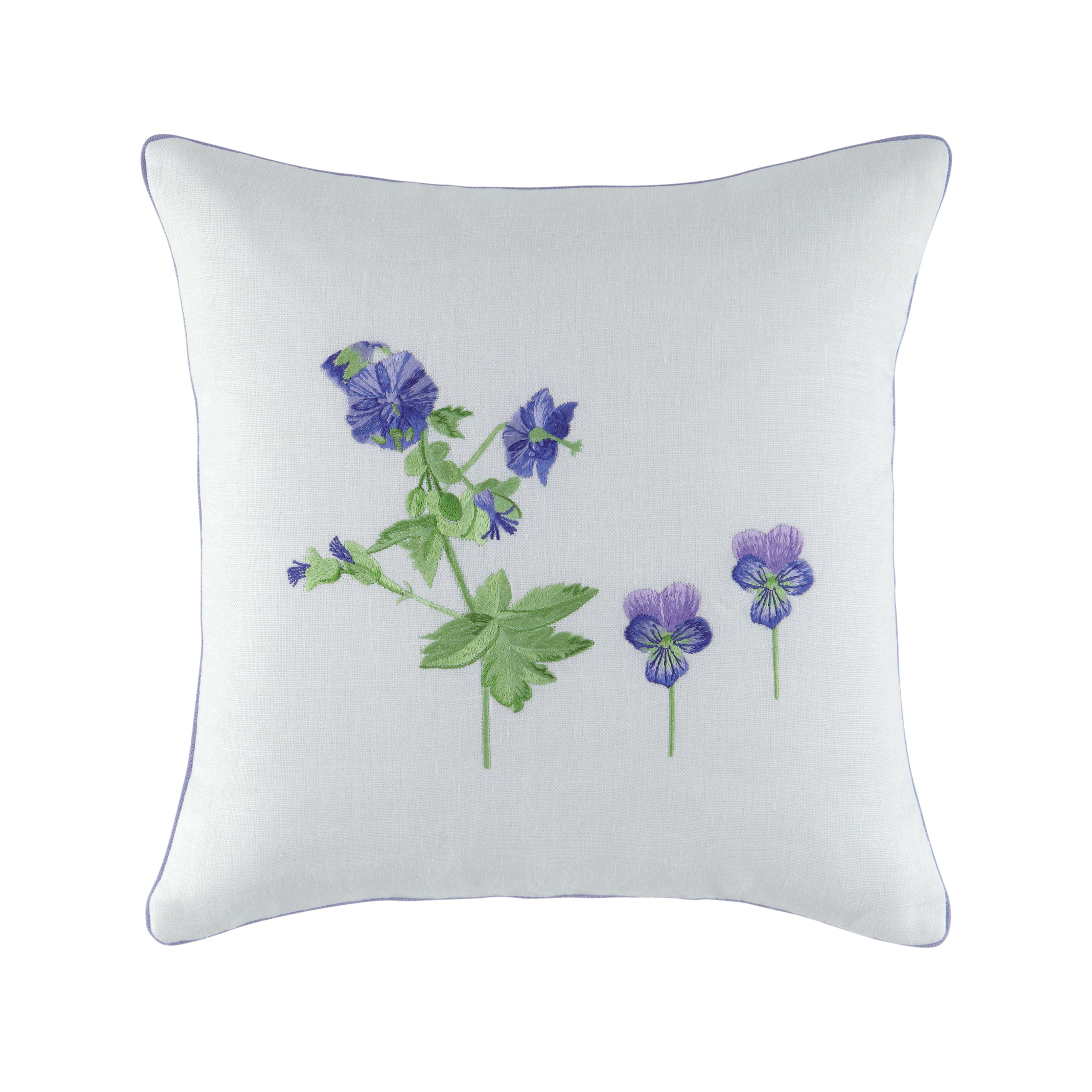 Lolableu bleu cushion cover 42x42*