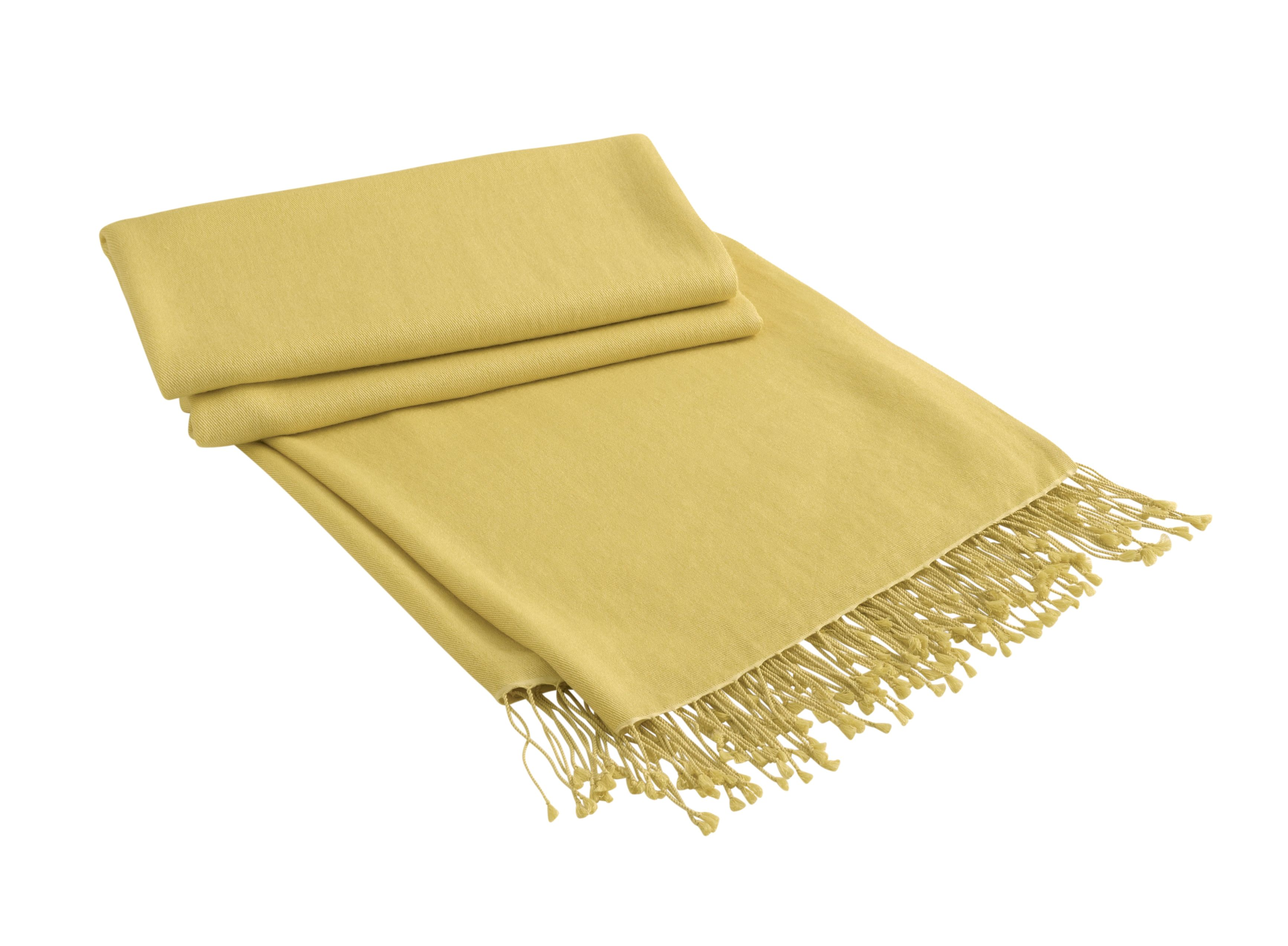 Solstice jaune throw 130x180*
