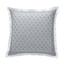Losanges silver cushion cover 42x42
