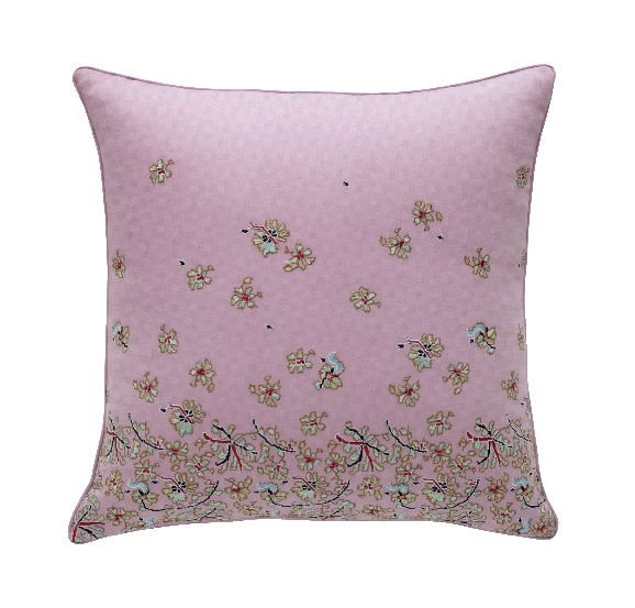 Rangoon blanc cushion cover 42x42