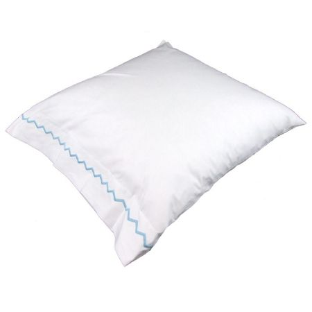 Yves Delorme Zigzag square pillowcase