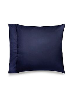 Langdon navy square pillow case pair