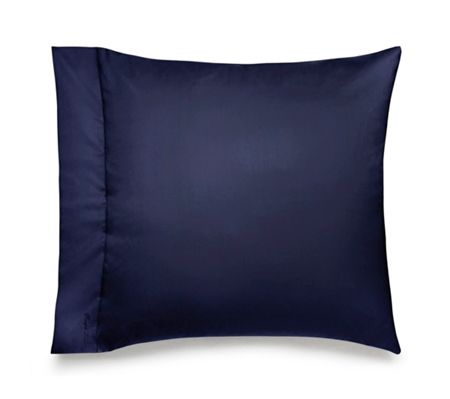 Ralph Lauren Home Langdon navy square pillow case pair