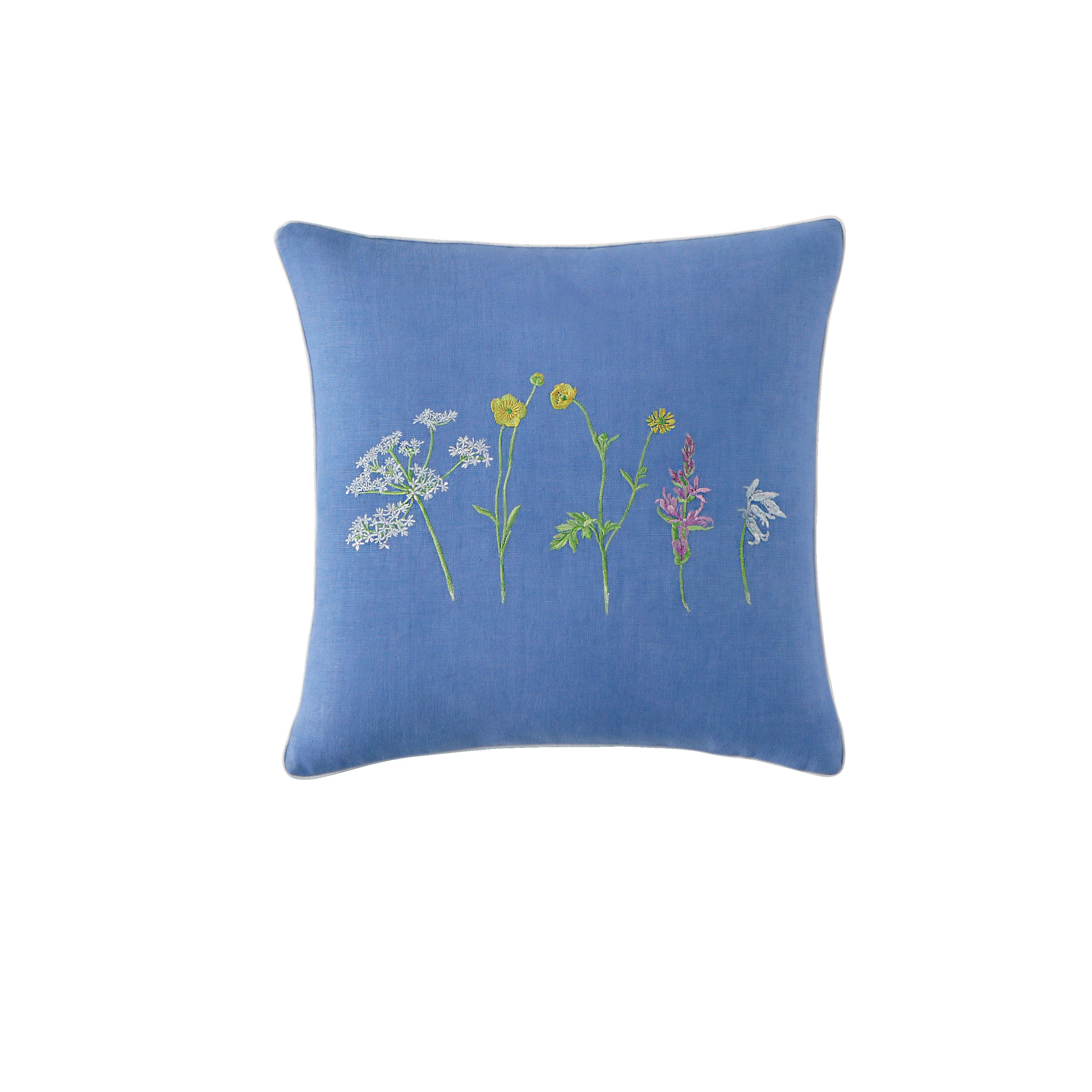 Beaucoup bleu cushion cover sqaure