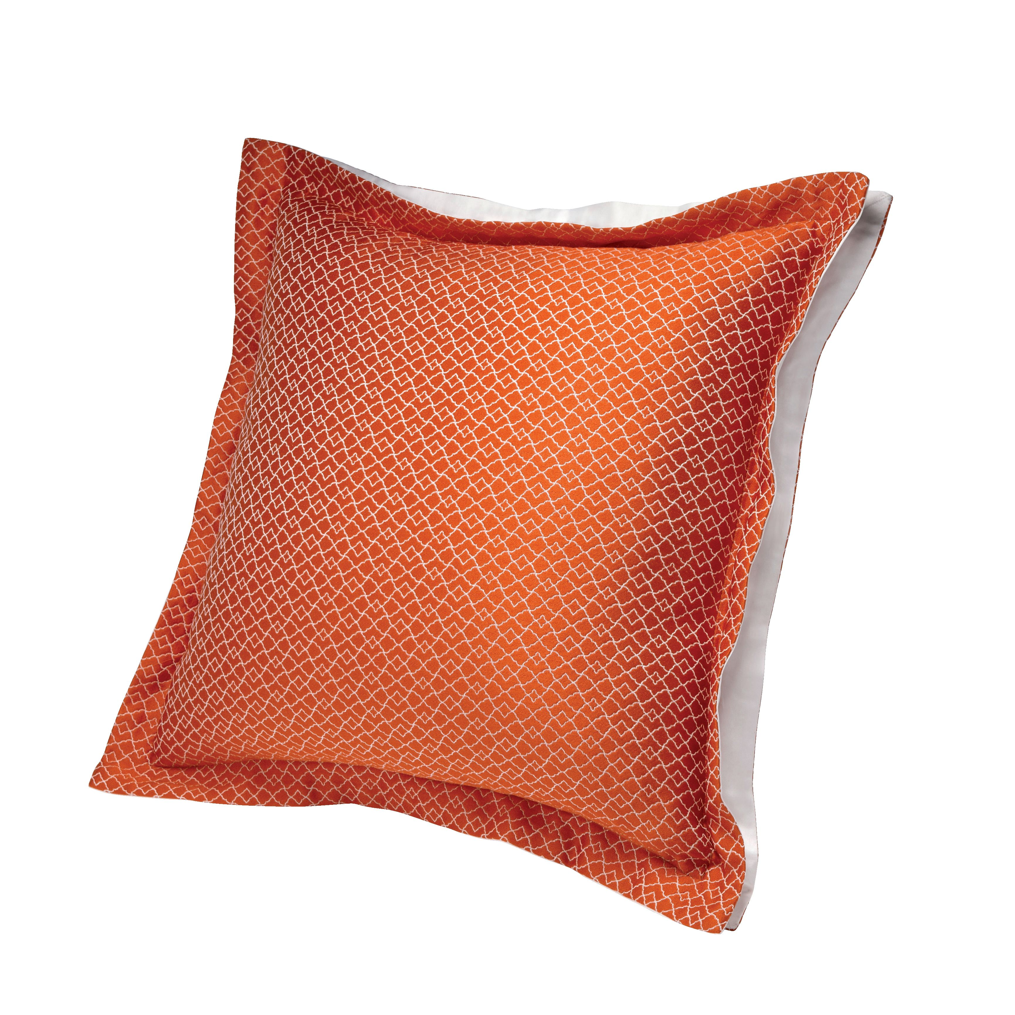 Jali safran cushion coverov sqaure