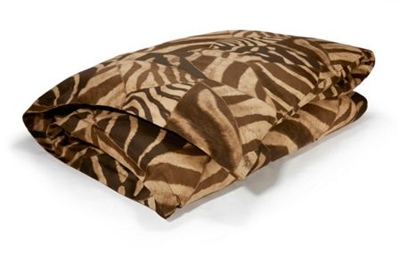 Ralph Lauren Home Victoria falls zebra brown single duvet cover