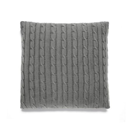 Ralph Lauren Home Cable charcoal cushion cover 45x45