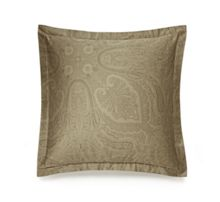 Ralph Lauren Home Doncaster bronze square pillow case