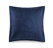 Ralph Lauren Home Doncaster navy square pillow case