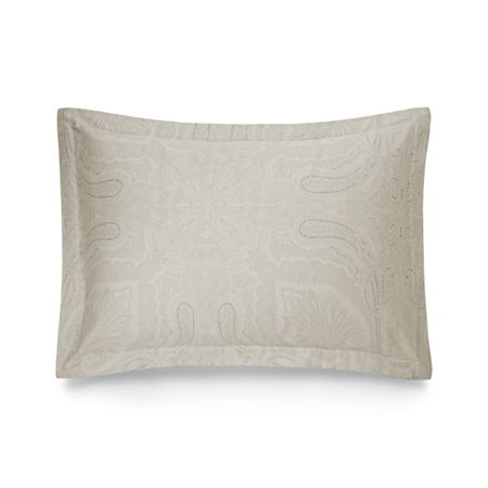Ralph Lauren Home Doncaster silver standard pillow case
