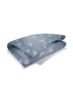 Silver vine super king duvet cover
