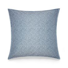 Silver vine shibori square pillowcase