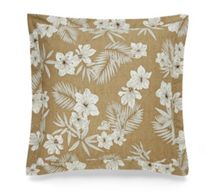 Ralph Lauren Home Haluna bay floral tan square pillow case