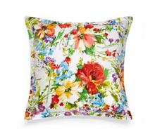 Watch hill floral square pillow case