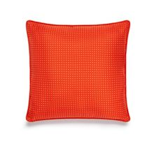 Dot orange cushion cover