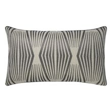 Fibre Fusain cushion cover