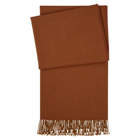Yves Delorme Aura Caramel throw