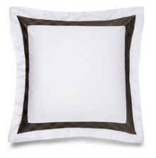 Glenplaid oxford square pillowcase
