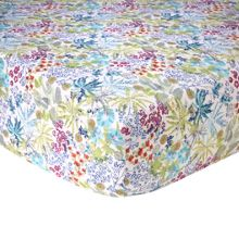 Yves Delorme Enfleur fitted sheet
