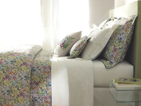 Yves Delorme Enfleur oxford pillowcase