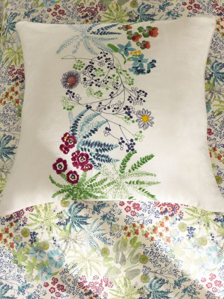 Yves Delorme Enfleur square oxford pillowcase