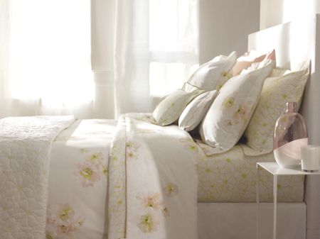 Yves Delorme Idylle boudoir oxford pillowcase