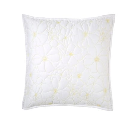 Yves Delorme Idylle square cushion cover