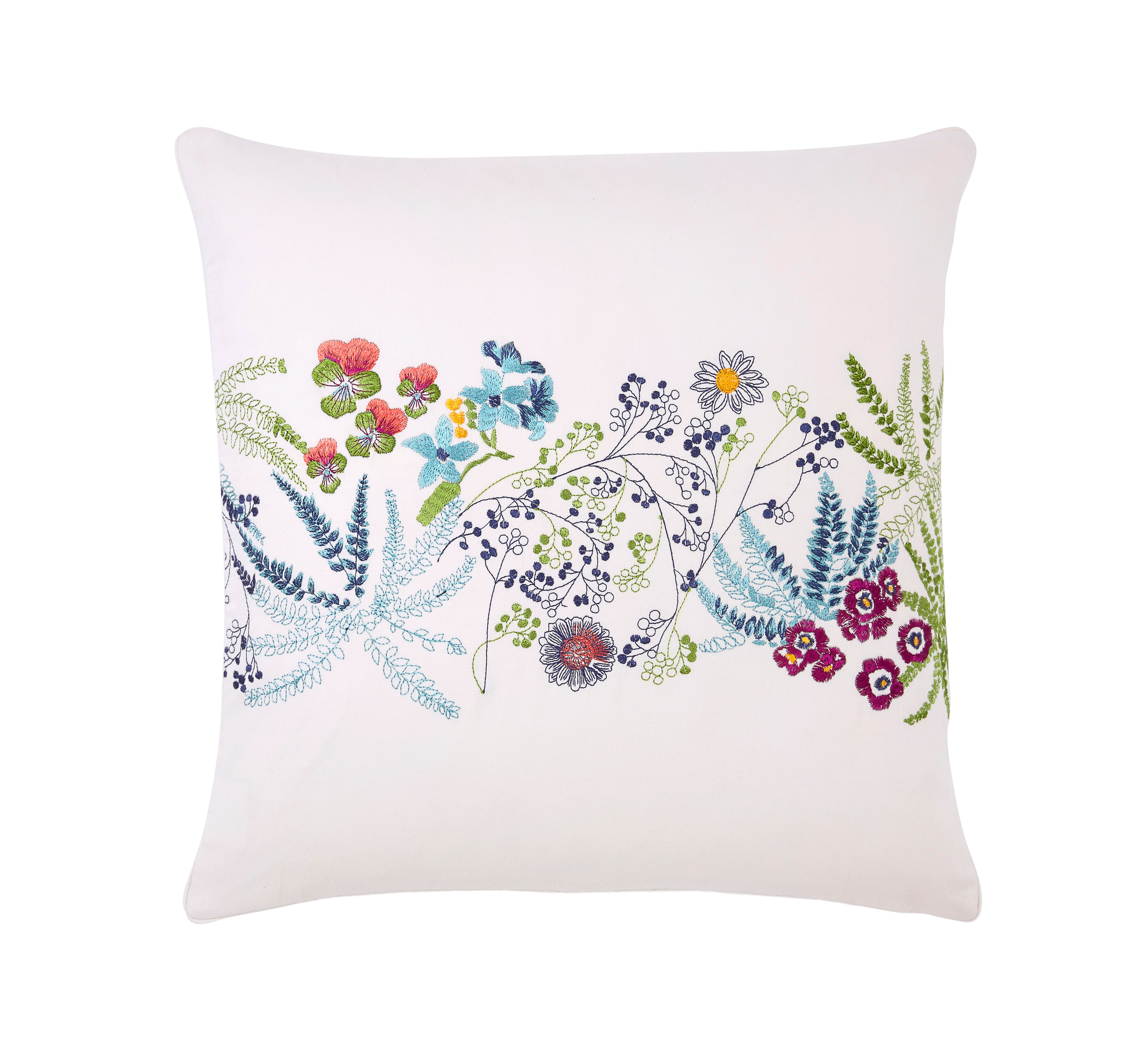 Yves Delorme Yves Delorme Enfleur square cushion cover