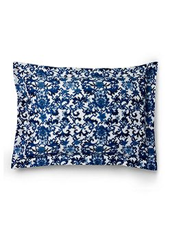 Dorsey Paisley Blue rectangular cushion cover