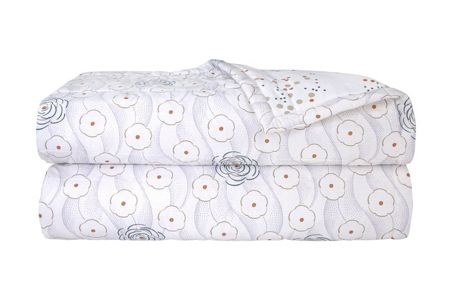 Yves Delorme Corolle bed cover
