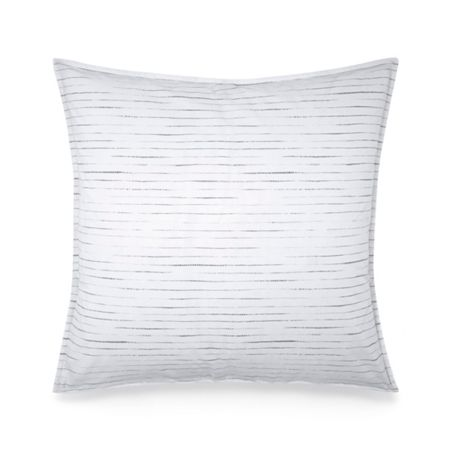 Calvin Klein Claytonia Dash square pillowcase
