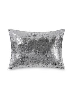 Agate sequin cushion cover
