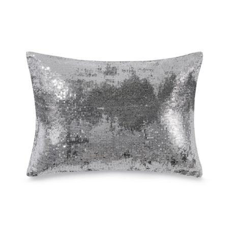 Calvin Klein Agate sequin cushion cover