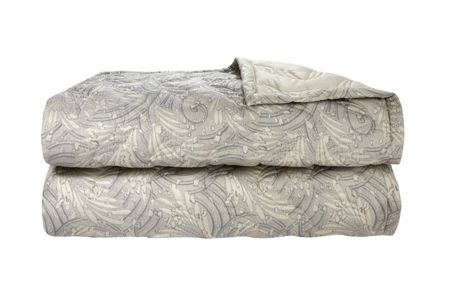 Yves Delorme Opal quilted bed cover