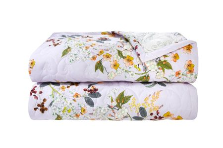 Yves Delorme Louise quilted bed cover