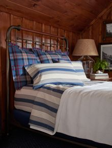 Ralph Lauren Home Saranac peak duvet cover