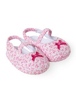 Baby girls Liberty-print shoes
