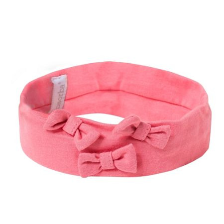Absorba Girls headband with attached bows