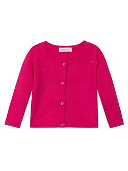 Baby girls knit cardigan