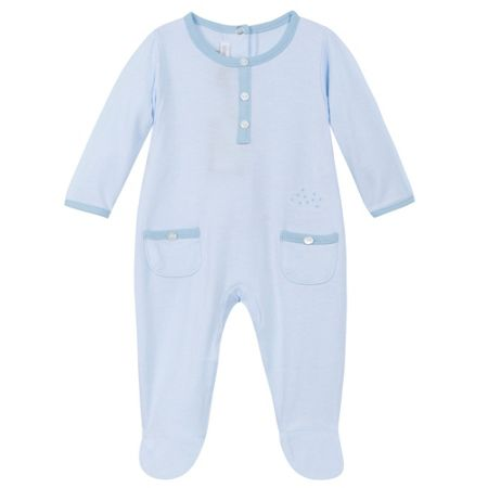 Absorba Baby boys long sleeves sleepsuit