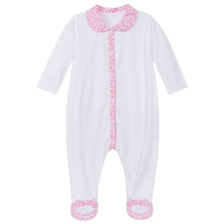 Absorba Baby girls sleepsuit, in soft cotton