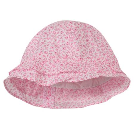 Absorba Girls lovely sun hat in cotton poplin