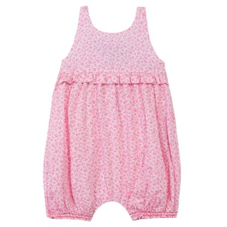Absorba Baby girls all over Liberty print romper White
