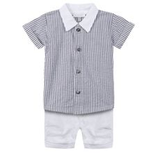 Absorba Boys ensemble with short and shirt