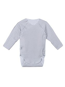 Babies wrap-top long-sleeved body + mitts
